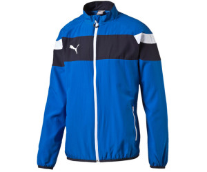Puma Spirit II Woven Trainingsjacke Kinder blau