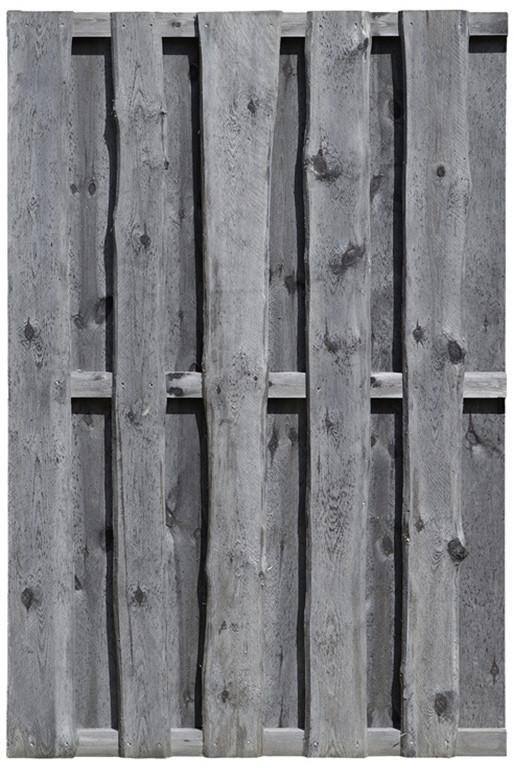 Delta Bohlenzaun kdi grau BxH: 120 x 180 cm