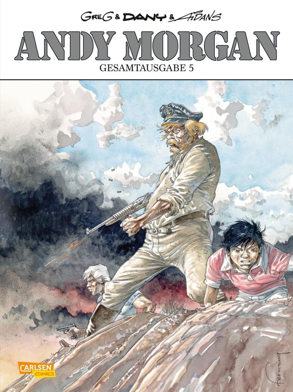 Image of Andy Morgan Gesamtausgabe 5 (ISBN: 9783551724205)