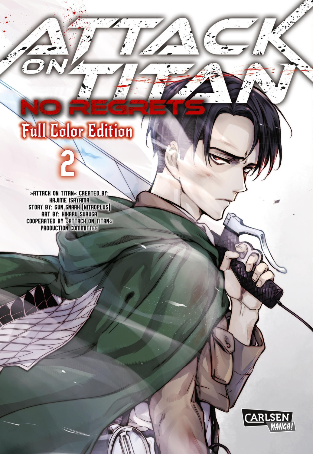 Image of Attack On Titan - No Regrets Full Colour Edition 2: Full Color Edition (ISBN: 9783551741295)