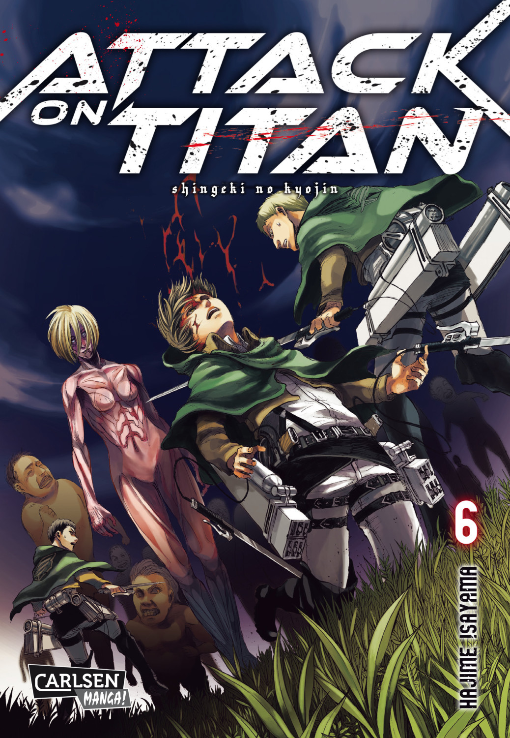 Image of Attack on Titan 6 (ISBN: 9783551742384)