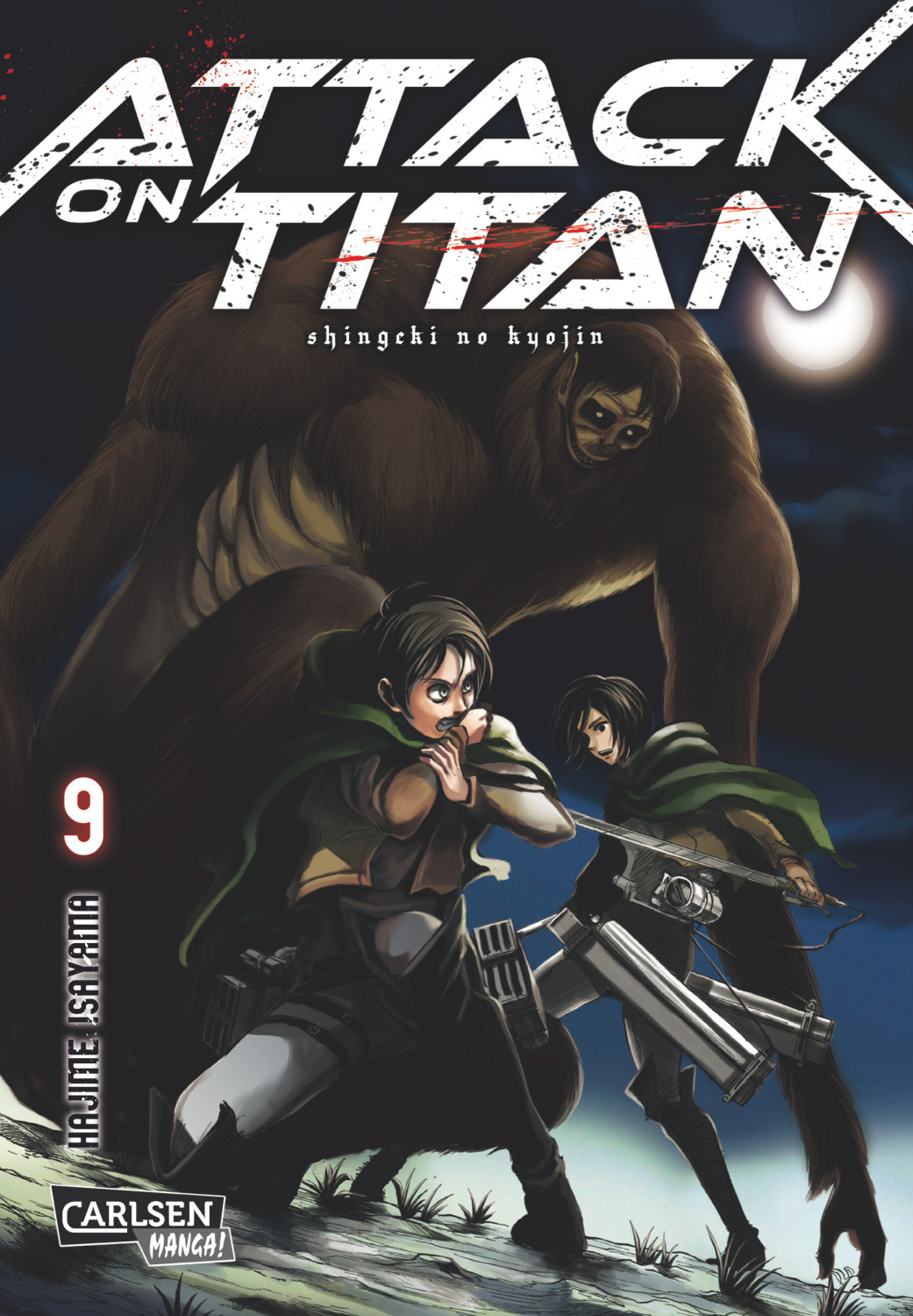 Image of Attack on Titan 9 (ISBN: 9783551799296)