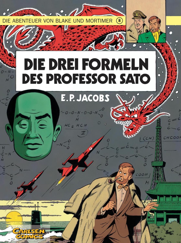 #Die Abenteuer von Blake und Mortimer Bd8 Die 3 Formeln des Professor Sato [Taschenbuch]#