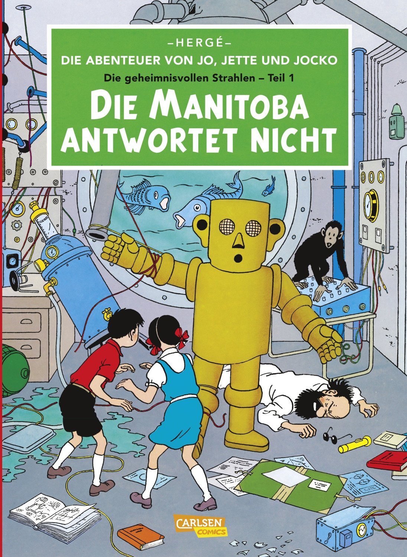 #Die Abenteuer von Jo Jette und Jocko 1: Die Manitoba antwortet nicht [Taschenbuch]#