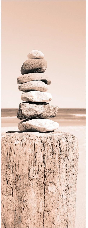 Pro-Art Leinwandbild Stones 27 x 77 cm