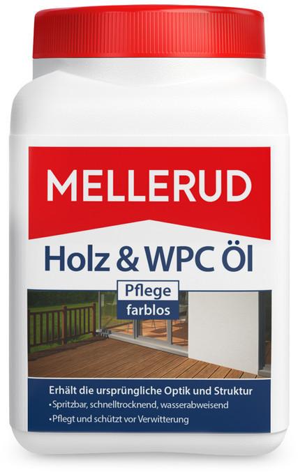 Mellerud Holz & WPC Öl 0,75 l