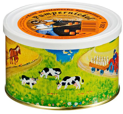 Trek'n Eat Dosenbrot Roggen-Vollkornbrot (250g)
