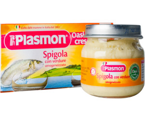Plasmon Babykost im Glas mit Seebarsch und Gemüse (80g)