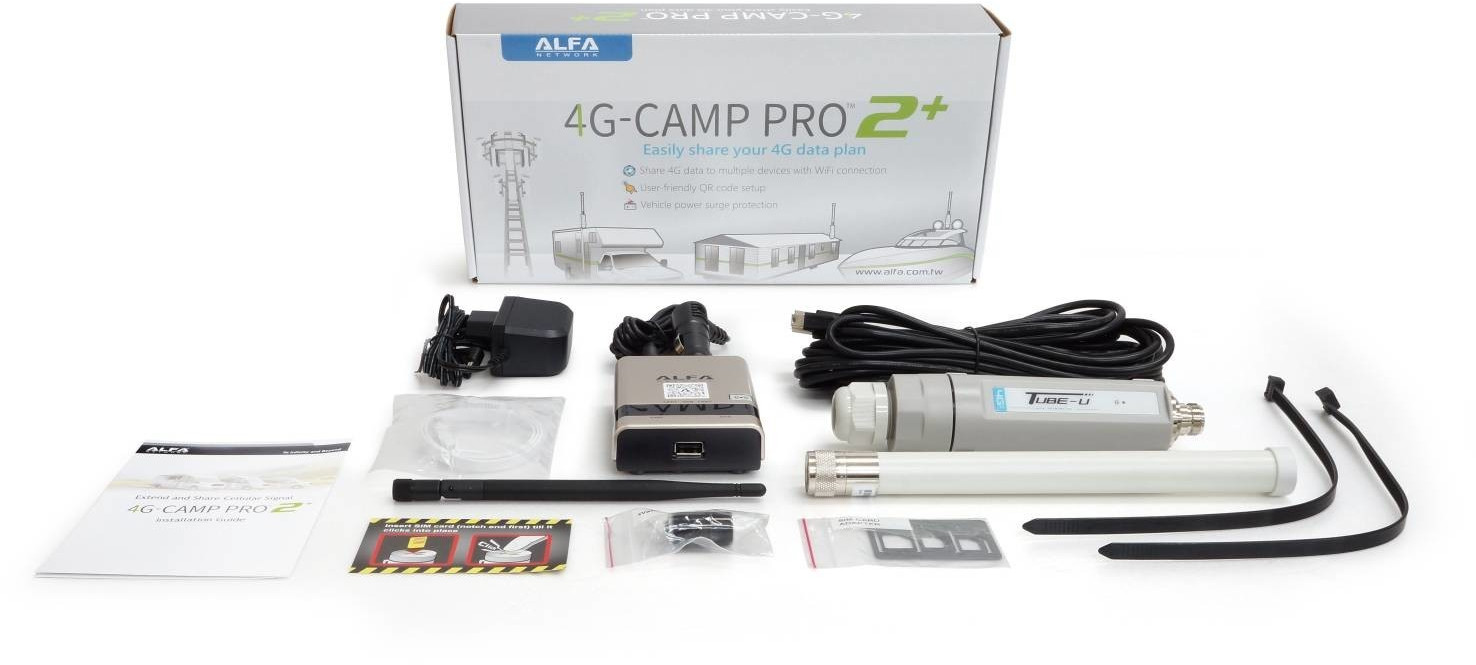 Image of Alfa Network 4G CampPro 2+