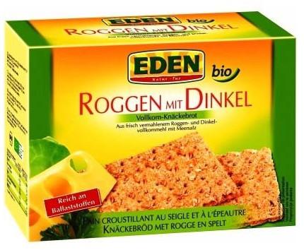 Cenovis Eden Bio Roggen mit Dinkel Vollkorn-Knäckebrot (250g)
