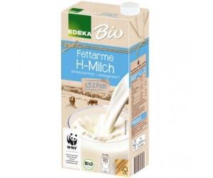 Edeka Fettarme H-Milch Bio 1,5% Fett (12x1l)