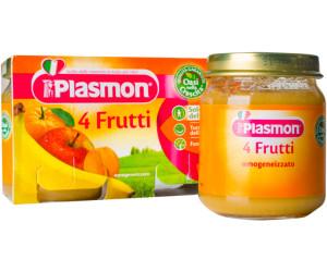 Plasmon Babykost im Glas 4 Früchte 104g