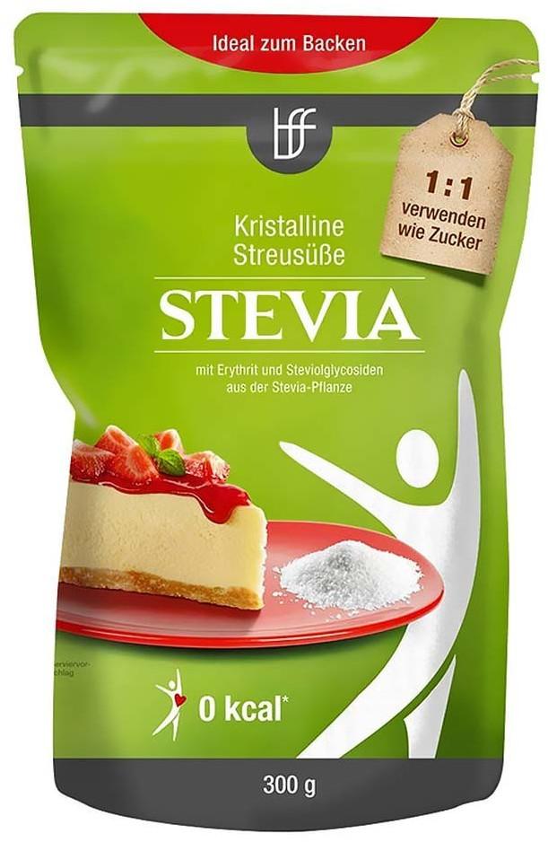 borchers Stevia Kristalline Streusüße - ideal zum Backen (300g)