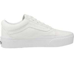 Vans Old Skool Platform true white ab 63,99 € | kurze