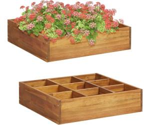 vidaXL Herb Planter 60 x 60 x 15 cm