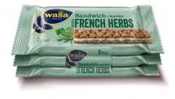 Wasa Knäckebrot-Sandwich Käse & feine Kräuter 3er-Pack (90g)