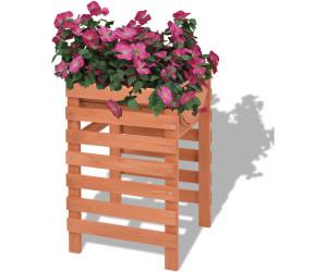 vidaXL Planter Wood 38 x 36 x 60 cm