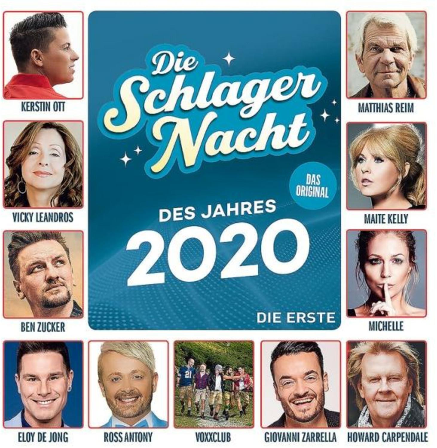Die Schlagernacht Des Jahres 2020 - Die Erste (CD)