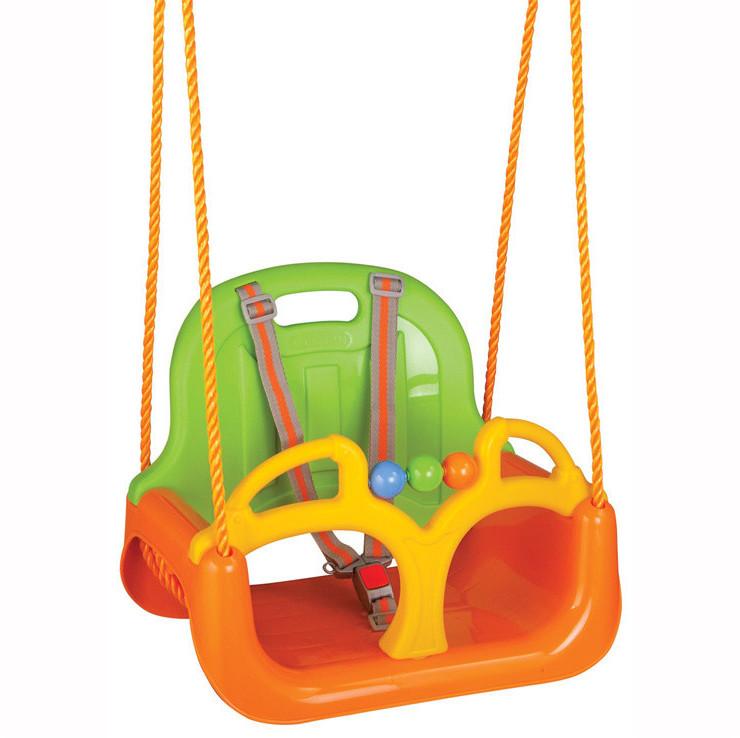 Siva Toys Samba Swing mitwachsende Schaukel grün/orange