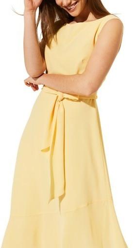 Comma Abendkleid gelb (8T.904.82.8075.1305)