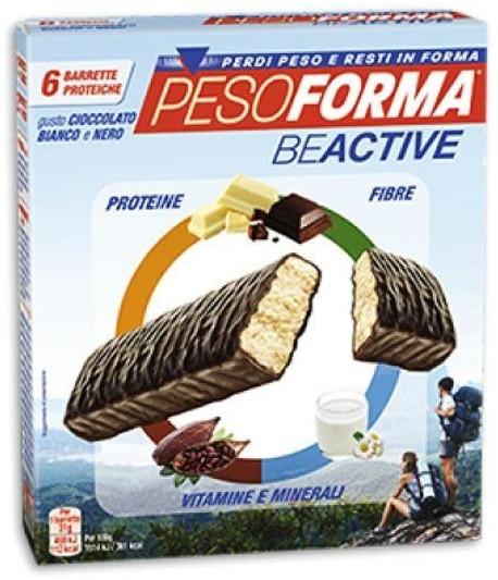 Image of Beactive Barretta 6 pz cioccolato bianco nero