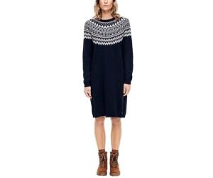 s.Oliver Damen Tailliertes Kleid mit Jacquard-Struktur