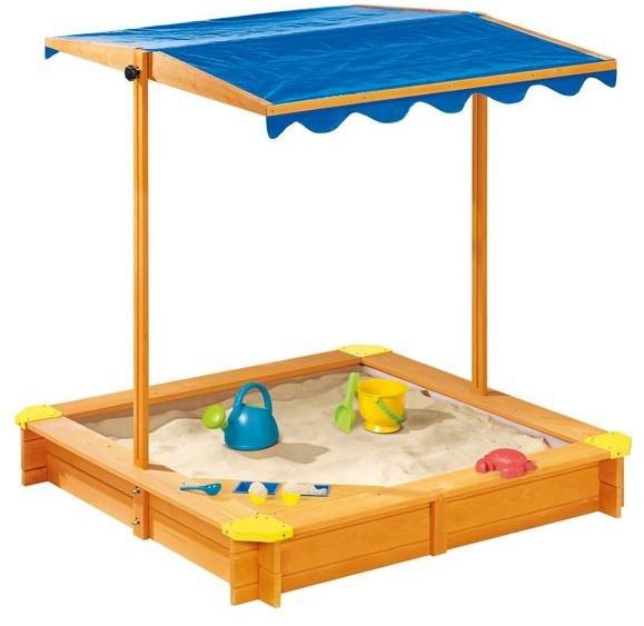 Playtive Sandkasten mit Dach und Eisdiele