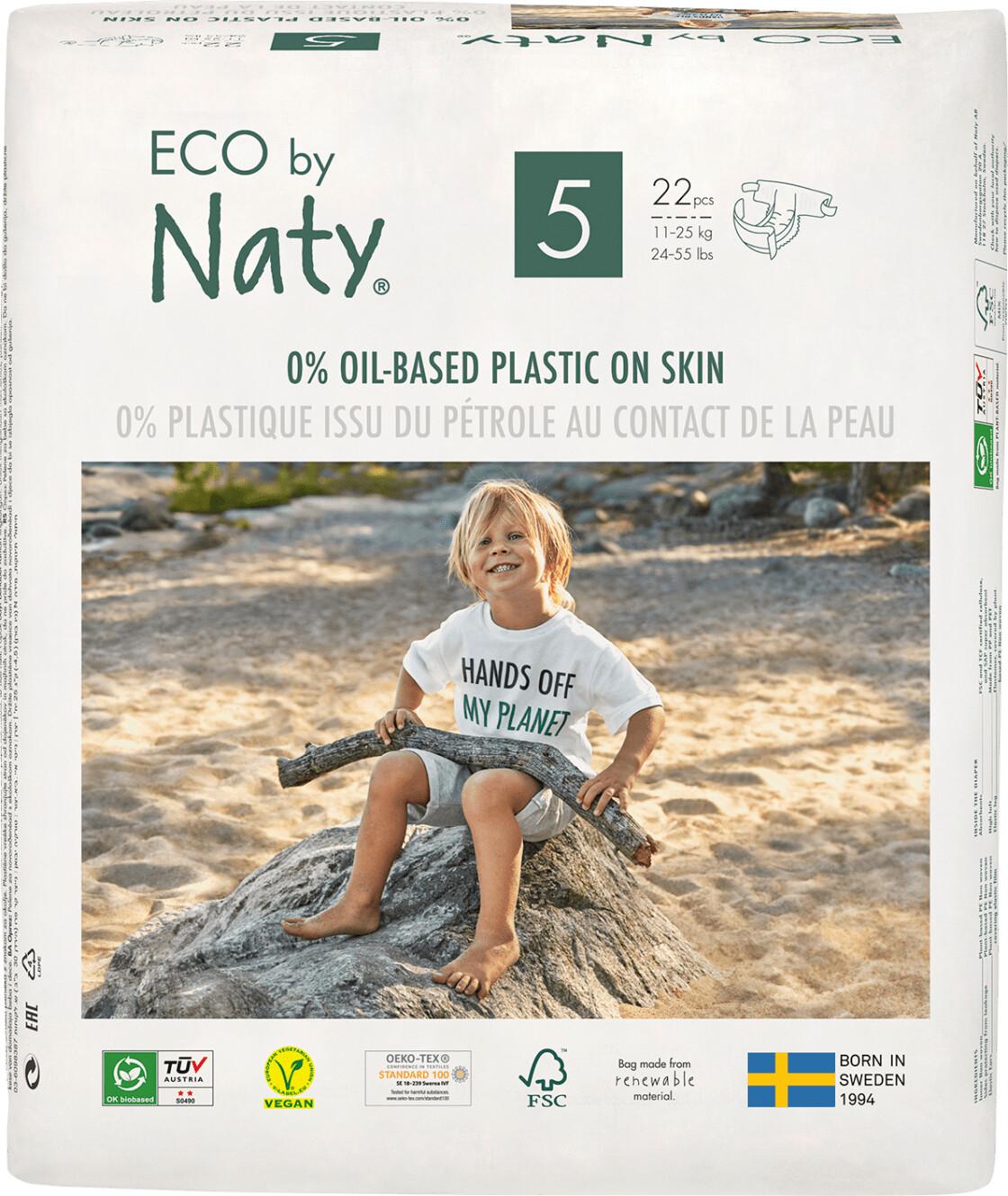 Naty Eco Größe 5 ( 11-25 kg) 22 Stk.