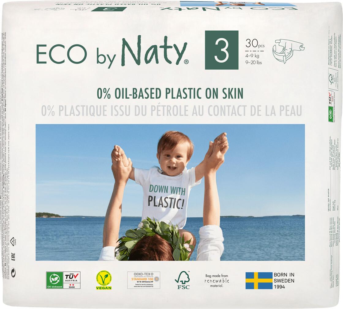 Naty Eco Größe 3 (4-9 kg) 30 Stk.