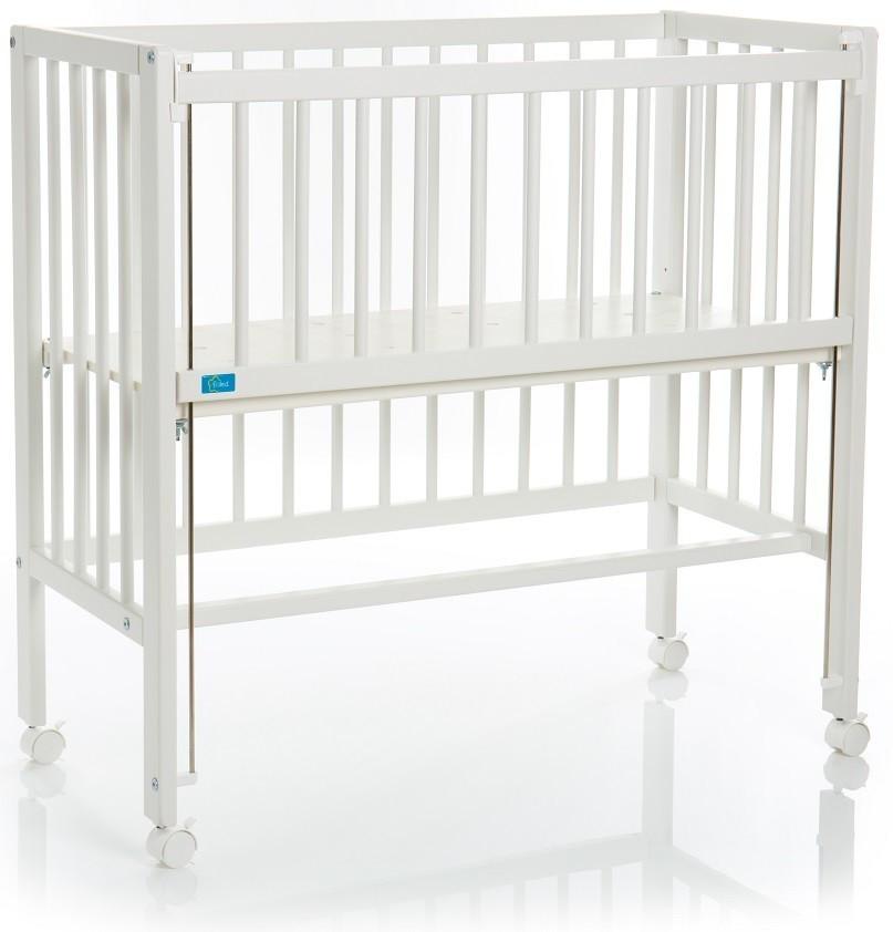 Fillikid Beistellbett Cocon Grib mit Matratze weiß