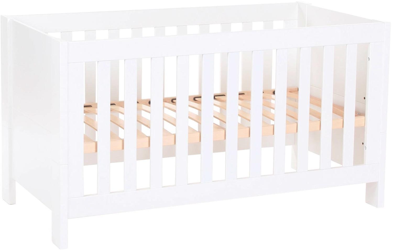 Babybay Tobi Baby- und Kinderbett All in One weiß