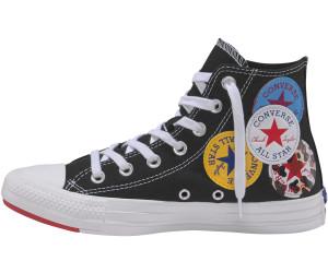 Nido Regularidad Opaco  Converse Chuck Taylor All Star Multi Logo Hi black ab 48,79 €    Preisvergleich bei idealo.de