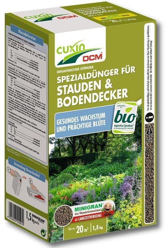 Cuxin DCM Spezialdünger für Stauden und Bodendecker 1,5kg