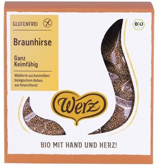 Werz Bio Braunhirse ganz keimfähig (1kg)