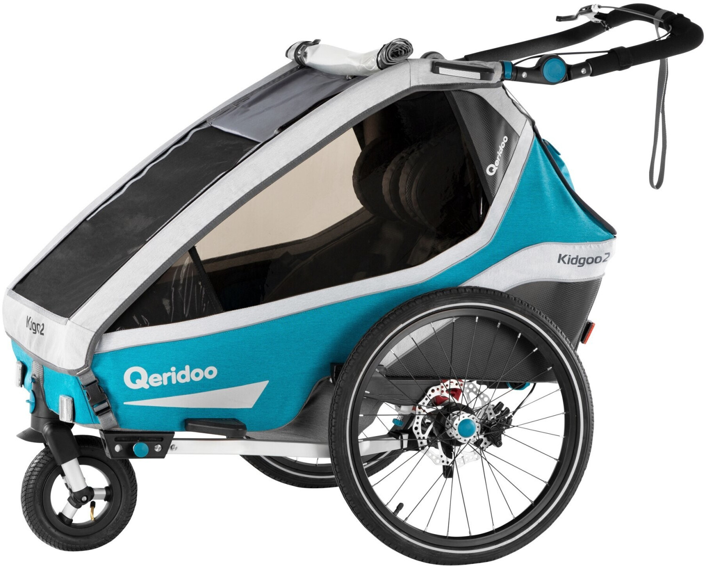 Qeridoo LED Batterie Rücklicht für Fahrradanhänger Anhänger ab 2020