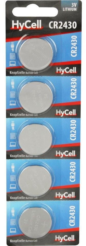 Image of HyCell CR2430 300mAh 5 Stck.