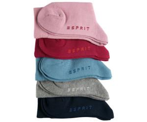 Esprit Socks Solid Mix 5er Pack (17041)