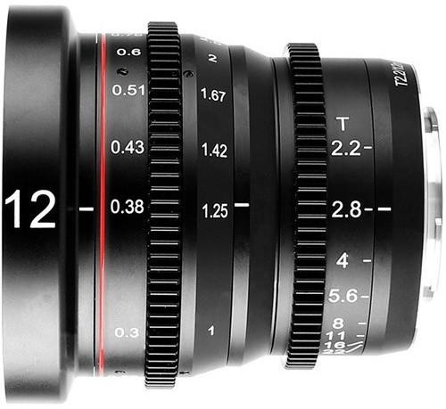 Image of Meike 12mm T2.2 Cine Lens