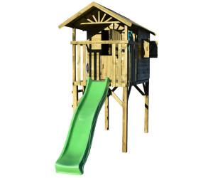 Prestige Garden Stelzenhaus Tree Hut Mit Rutsche Grun Ab 856 79 Preisvergleich Bei Idealo De
