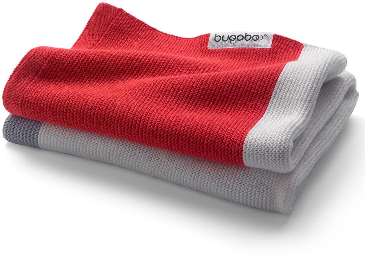 Bugaboo Baumwolldecke Neon Rot