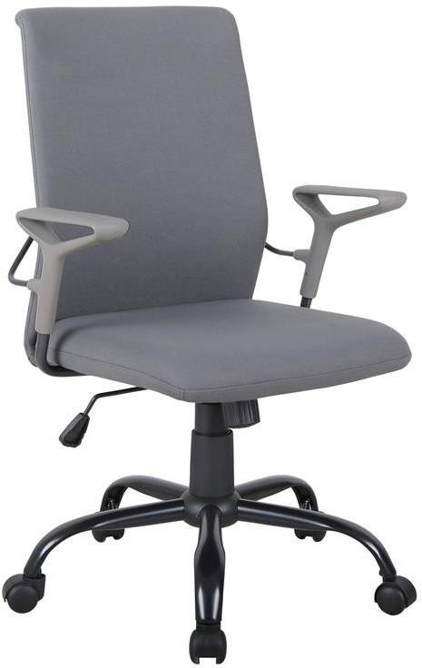 SixBros. Schreibtischstuhl grau (1211M/8064)