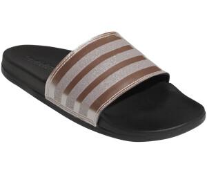 adidas Frauen Comfort Adilette Badeschuh grey threeplatin