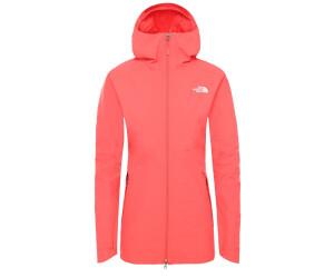 The North Face Hikesteller Parka Shell Jacket Damen Regenjacke taupe green