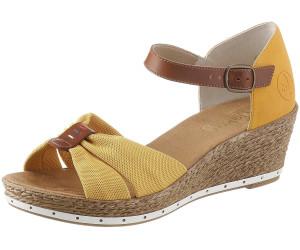 Rieker Sandalette (60467) gelb ab 20,54 € | Preisvergleich