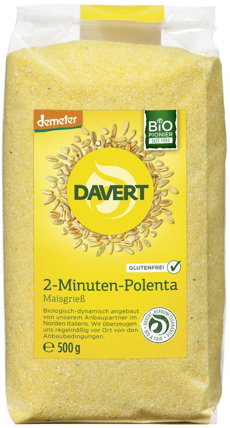 Davert Demeter Bio 2-Minuten-Polenta (500g)