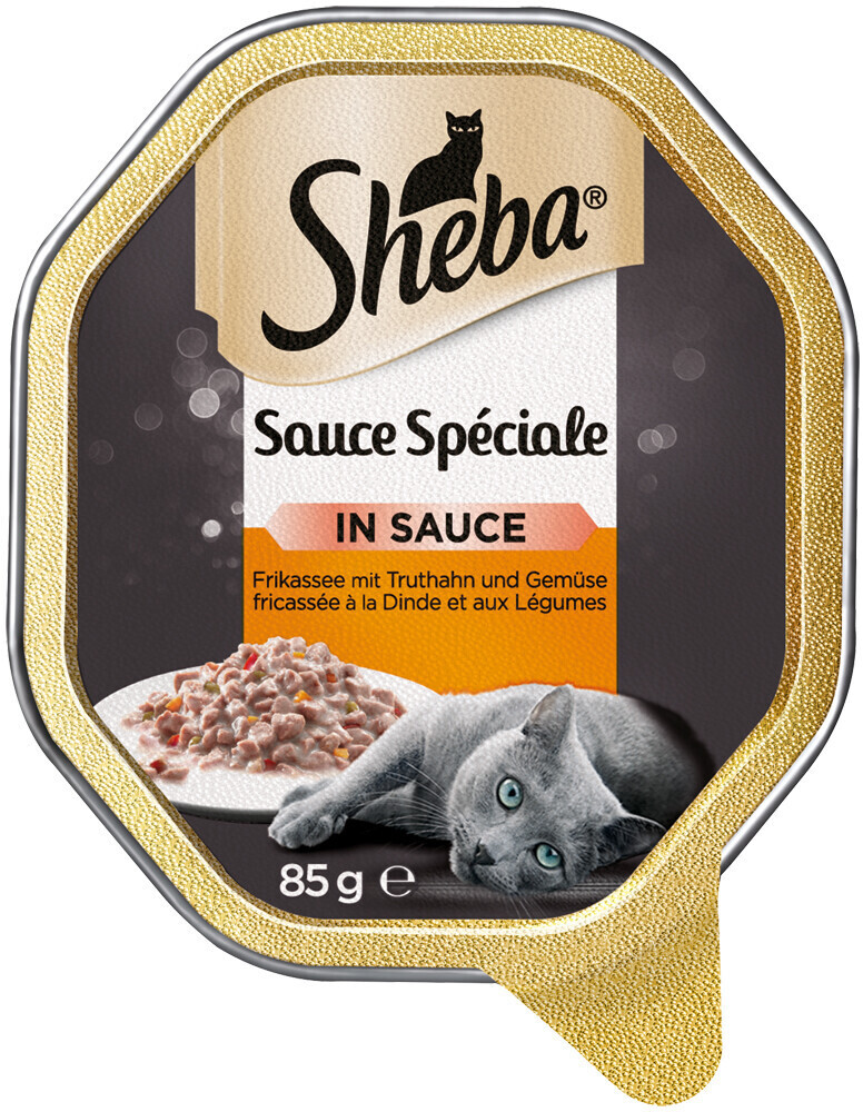 Sheba Speciale Frikassee mit Pute 22x 85g