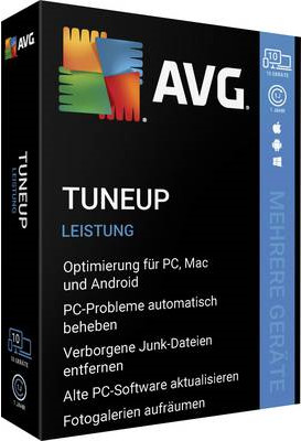 Image of AVG TuneUp 2020 (10 Devices) (1 Year)