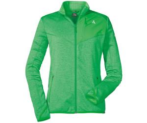schöffel jacke mit fleece in grün