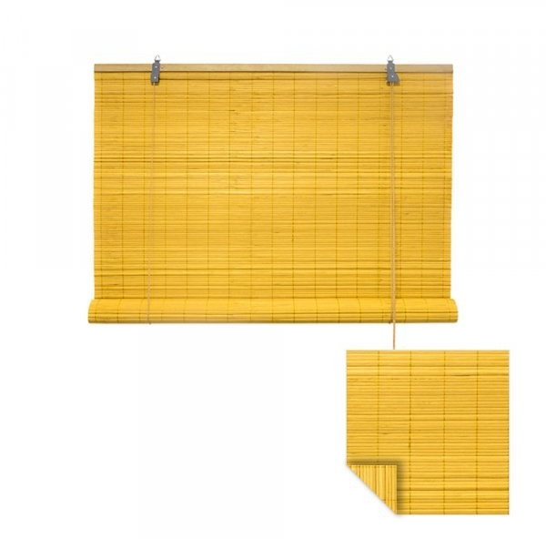 Victoria M. Bambusrollo 150 x 160 cm gelb