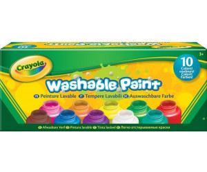 Crayola Washable Paint 10 Colors
